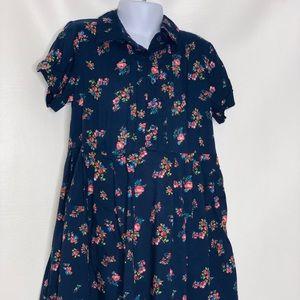 Gap kids girls rayon floral dress NWT Sz 6-7